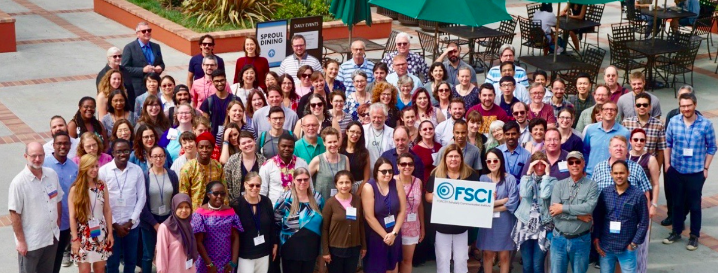 Group photo of FSCI 2019 attendees