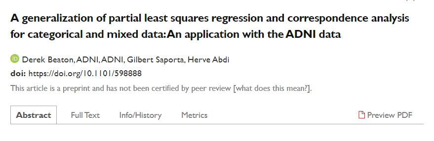 This preprint has errors in the contributor field