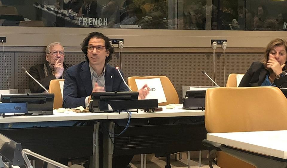 Juan Pablo Alperin presents at Open Science UN